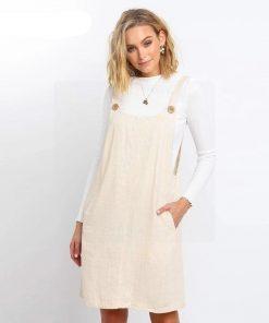 Bohemian Hippie weißes Kleid
